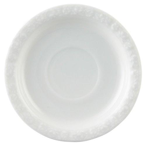 Rosenthal 10430-800001-14741 Maria Kaffee-Untertasse 14 cm, weiß Eine Untertasse