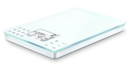 Soehnle Food Control Easy, LCD, Blanco - Báscula de cocina