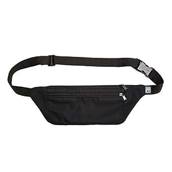 Bauchtasche flach, rip stop schwarz, Hip bag, shoulder bag, fanny pack, Hüfttasche, belt bag, sac banane, cross bag