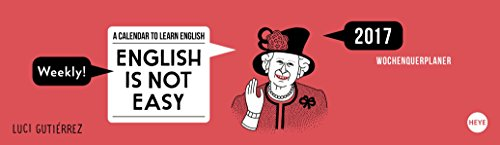 English is not easy 2017 Wochenquerplaner