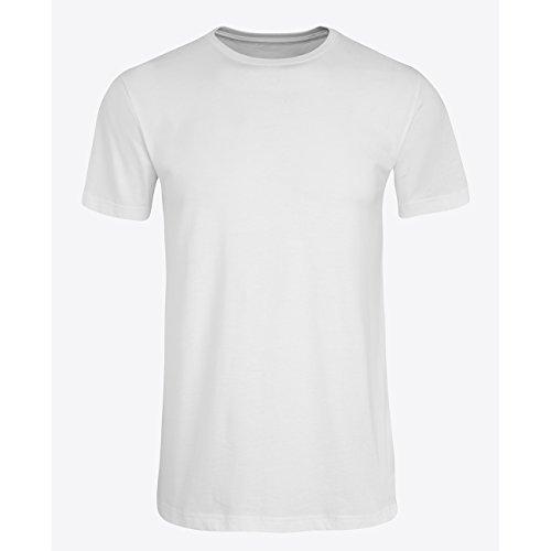 Jockey Herren American T-Shirt USA Originals 3er Pack Weiß