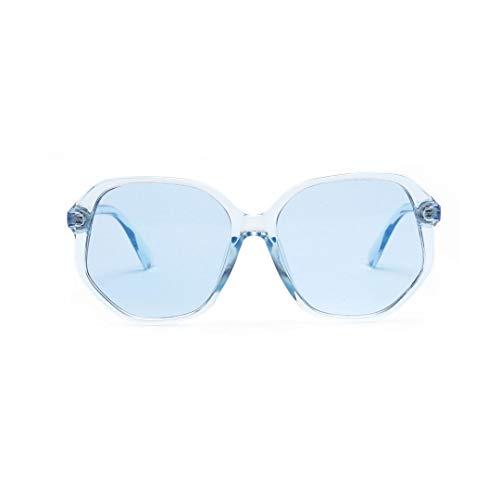 WULE-RYP Polarisierte Sonnenbrille mit UV-Schutz Candy Color Square Retro Sonnenbrillen Eyewear Klassische Designer-Sonnenbrillen Fashion Style UV400 Superleichtes Rahmen-Fischen, das Golf fährt