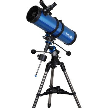 Meade Instruments Polaris 216008 - Telescopio, Reflector Azul, 130mm MD