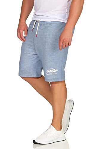 Infinity-hosen (JACK & JONES JJEMELANGE Shorts, Farbe: Infinity/Hellblau; Größe: S)