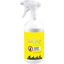FINCA CASAREJO Solupioj Spray - para Eliminar piojos gallinas, ácaros garrapatas, chinches. - 1 litro
