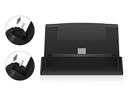 Original ULTIMATE DOCK by Rydges Speedpower für Samsung / Blackberry / Google / Motorola und Nokia -- variabler Micro-USB 2.0 Connector - passt sich dem Smartphone an / auch für Smartphones mit Schutzhülle / Kompatibilitätsliste befindet sich in der Beschreibung