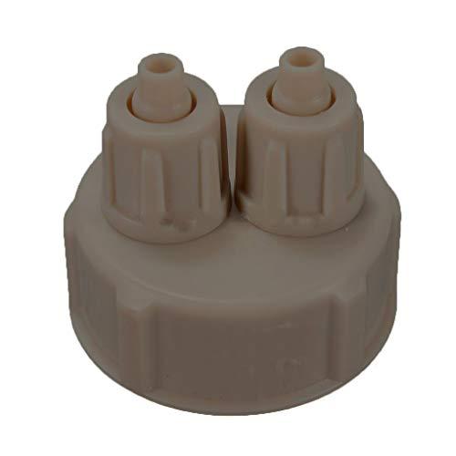 Floridivy Hot Bottle Spur Cap CO2 Pro System Rohrventil Kit für DIY Aquarium bepflanzten Becken (Bepflanzten Aquarium)