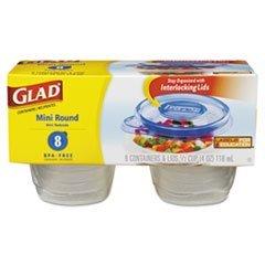 tilex-70240-gladware-mini-round-food-storage-containers-4-oz-8-pk-12-pk-ctn-by-tilex