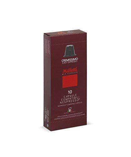 Capsule Caffè Musetti Compatibili Nespresso® - 10 pezzi - Cremissimo