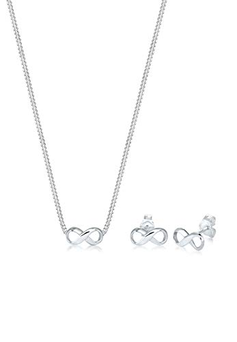 Elli Damen -Schmuck-Sets 925_Sterling_Silber Kristall 0911352717_45