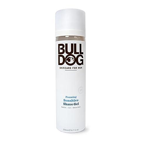 Bulldog Foaming Sensitive Shave Gel, 200 ml