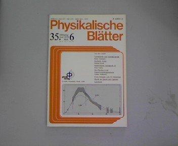 Exotische Atome. Eine neue Methode in der Kern- und Elementarteilchenphysik, in: Physikalische Blätter 6/1979
