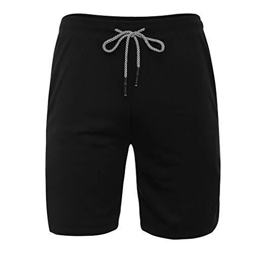 Binggong Herren 2 in 1 Kurze Hosen Laufsport-Shorts mit Eingebaut Taschen,Männer Schnell Trocknend SweatshortsSommer Bermuda M-3XL - Herren Reise-jeans