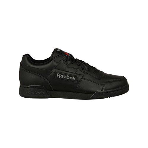 Reebok da uomo allenamento Plus con lacci ginnastica scarpe sportive Nero (Nero carbone)