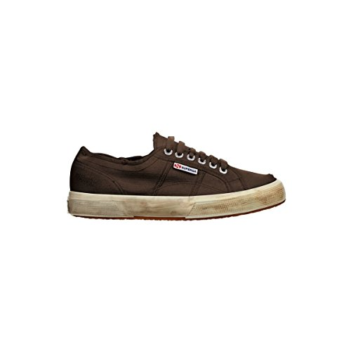 Superga 2750 Cotu Stone Wash, Chaussons Sneaker Adulte Mixte Dk Coffee