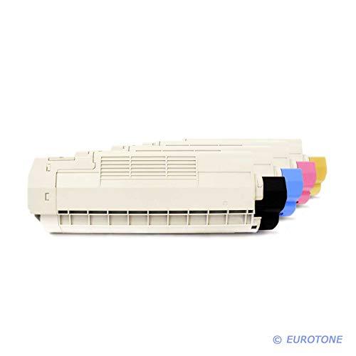 4X Eurotone Toner für Oki C 5600 5700 DN N ersetzt Druckerpatronen Patronen -