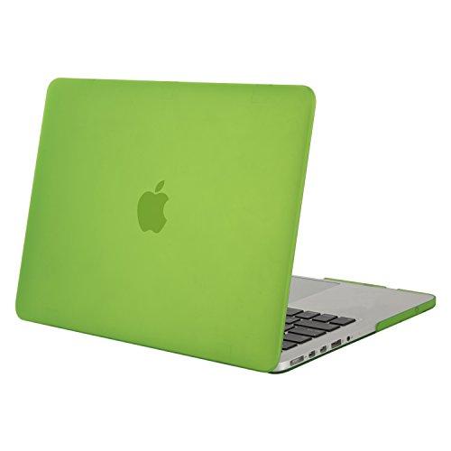 Pro Grün Macbook 13 Case (MOSISO MacBook Pro 13 Retina Hülle (NO CD-ROM Drive) - Ultra Slim Hochwertige Hartschale Tasche Schutzhülle Snap Case für MacBook Pro 13 Zoll mit Retina Display (A1502 / A1425, Version 2015/2014/2013 / Ende 2012), T-Greenery)