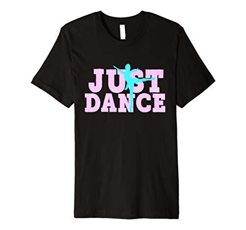 Dance Mom-t-shirt (Dance Shirt Just Dancing Dancer Tochter Mom Pink Aqua)