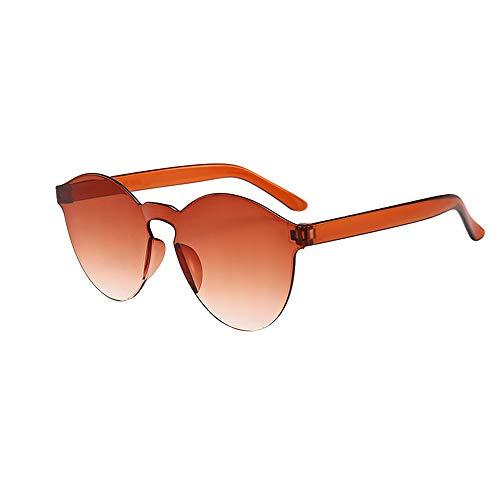 Battnot☀  Sonnenbrille für Damen Herren, Unisex Klar Frameless Vintage Mode Anti-UV Gläser Sonnenbrillen Männer Frauen Retro Billig Shades Sunglasses Super Coole Fashion Women Travel Eyewear