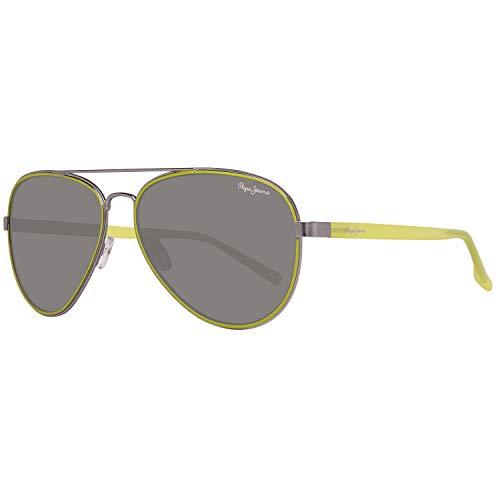 Pepe Jeans Herren PJ5123C659 Sonnenbrille, Silber (Silver), 59