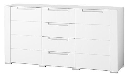 Stella Trading DOWWA61020 Sideboard, Holz, weiß, 41 x 170 x 87 cm