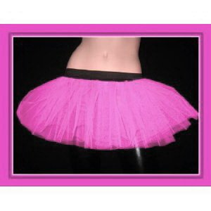 Baby Pink Tutu Petticoat Skirt Punk Cyber Rave Dance Fancy Costumes Party UK Free Shipping