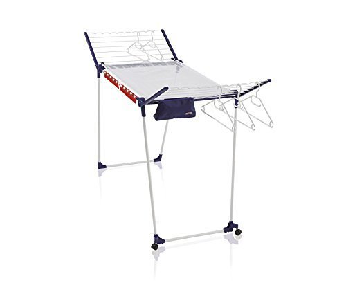 Leifheit Pegasus 200 DeLuxe Mobile Clothes Airer - 20 m, White by Leifheit