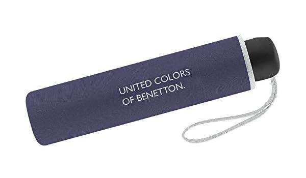 United Colors of Benetton Parapluie Canne Rabbit Gray 95 cm