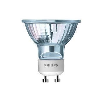 Philips 50W GU10 240V 40D Warm White Dimmable Halogen Spot Bulbs 3