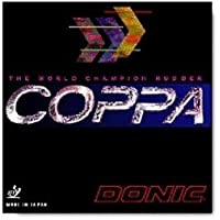 DONIC Coppa, TT-combinado, de nuevo, de Ping Negro negro Talla:1.1 mm