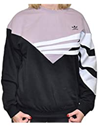 purchase cheap bbd6b 40e43 adidas Sweater, Felpa Donna, BlackSoft Vision, 44