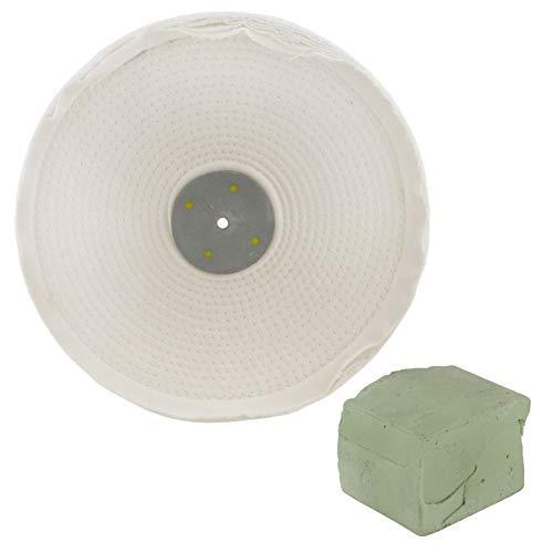 DrillMan Poliermop für Polierarbeiten mit Mischung, 30,5 x 2,5 cm, 2-reihig, 250 g