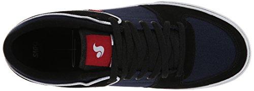 DVS Torey Lo, Chaussures de skateboard homme Multicolore (Blk/Navy Suede)