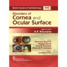 Disorders of Cornea and Ocular Surface (Modern System of Ophthalmology)