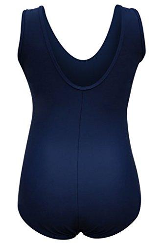 Damen Einteiler Badeanzug Swimwear SWIMSUIT Umstandsbadeanzug Bademode Schwimmanzug blau ( marine)
