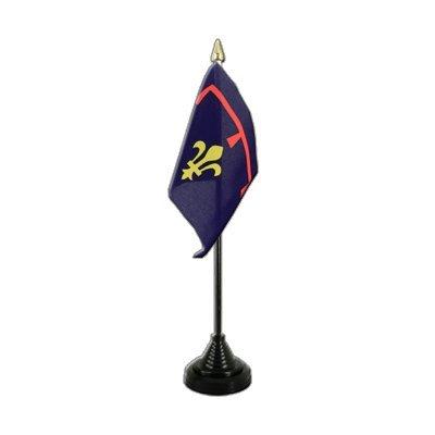 Frankreich Provence Flagge, provenzalische Tischflagge 10 x 15 cm, MaxFlags®