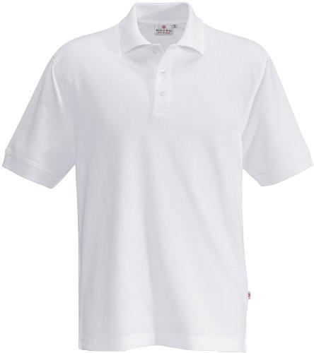 HAKRO Polo-Shirt Top - 800 - weiß - Größe: XL (Activewear Männer Für)
