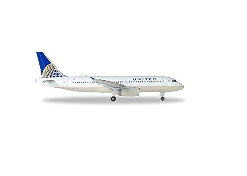 Herpa 531252 United Airlines Airbus A320 - N491UA