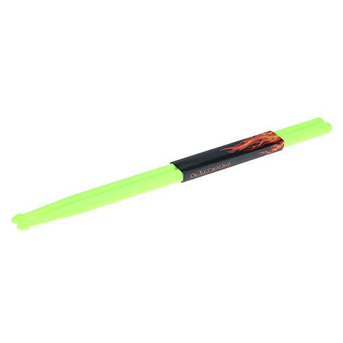 Andoer Coppia di 5A bacchette Stick Nylon per Drum Set leggero Professional