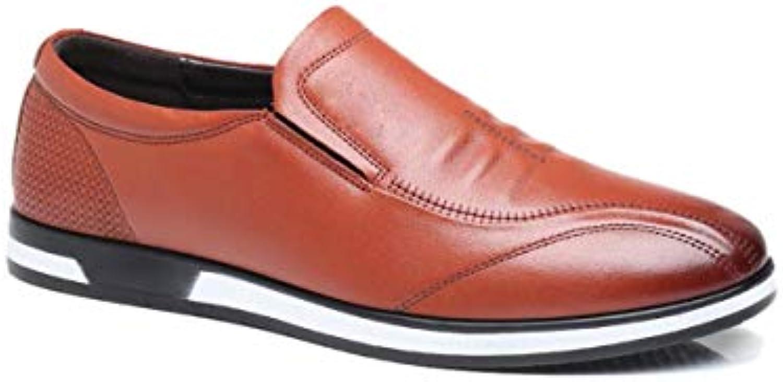 lzmeg souliers en cuir souple souple souple d'hommes b07hg7rkxq parent à pieds 2de512