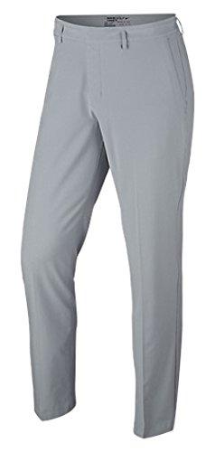 Nike Herren Flat Front Stretch Hose, Wolf Grey/Anthracite, 34-32 (Nike Golf Hosen)
