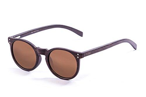 ocean-sunglasses-lizard-lunettes-de-soleil-bamboo-dark-frame-wood-dark-arms-brown-lens