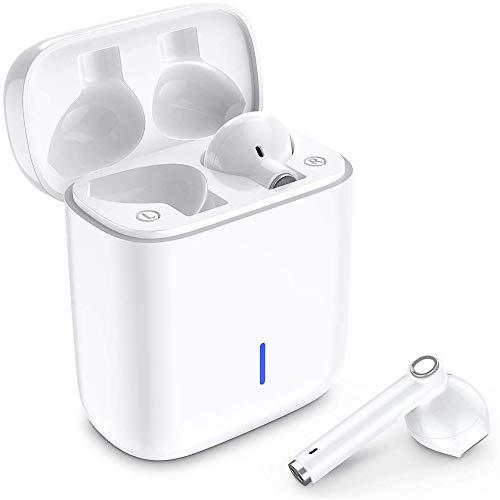 Écouteurs Bluetooth, Luvfun Oreillette Bluetooth 5.0 sans Fil à réduction de bruit stéréo...