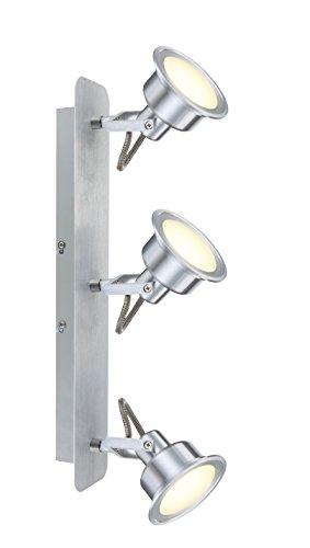 Faretto a LED senza tempo in alluminio satinato vetro 5W
