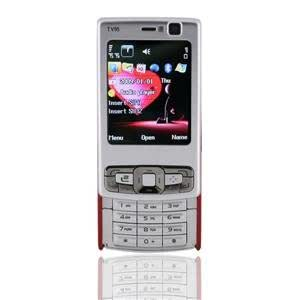 """Estar E3 2.0"""" TFT Screen Dual SIM Standby Quad-band Cell Phone with TV FM Bluetooth Support 4GB TF Card (Red)"""