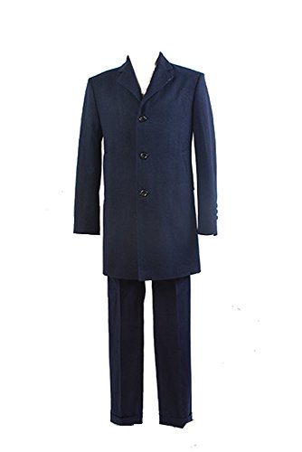 Doctor Who 12th Doctor Peter Capaldi Kostüm Cosplay Set Mantel Weste Hose Herren L