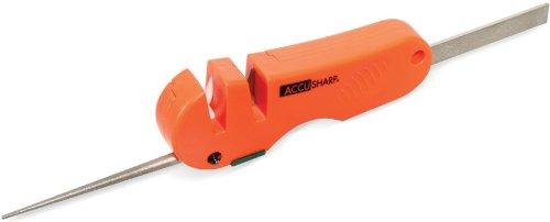AccuSharp ACCU-028C 4-in-1 Messer und Geräteschleife, Orange