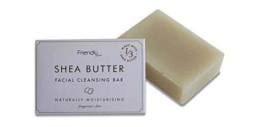 Facial Cleansing Bar (Friendly Soap Natural Handmade Shea Butter Facial Cleansing Bar by Friendly Soap)
