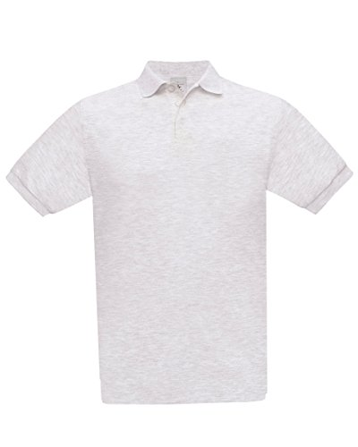 B&C Herren T-Shirt Aschgrau