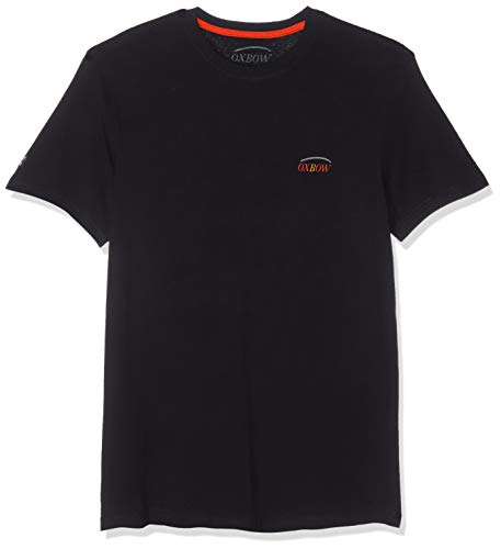 Oxbow TOKROZ T-Shirt Homme, Noir, FR : L (Taille Fabricant : L)